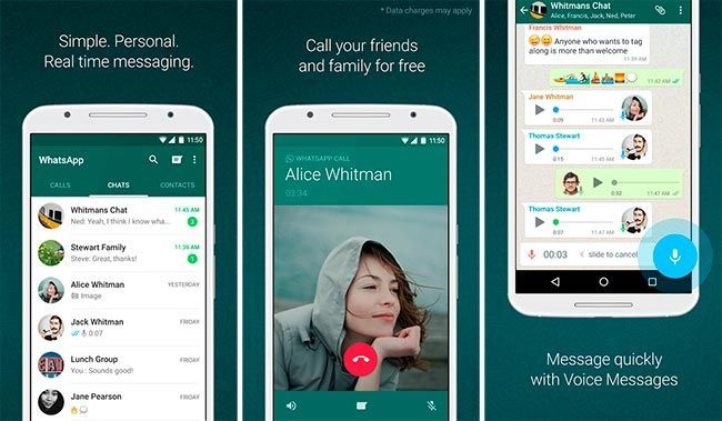 download WhatsApp for Android for free