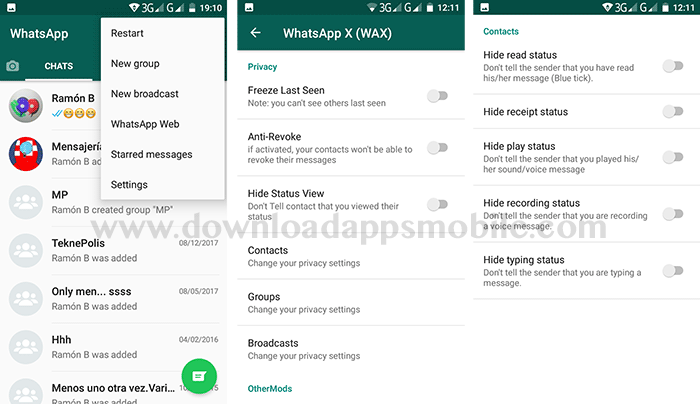 WhatsApp X Privacy
