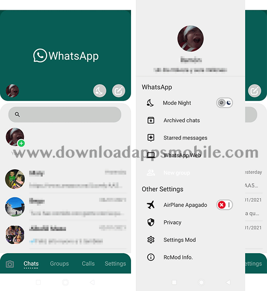image of WhatsApp Material D2