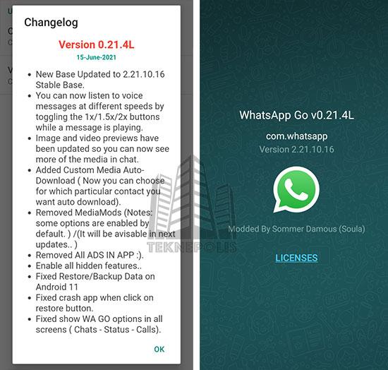 WhatsApp GO 0.21.4L