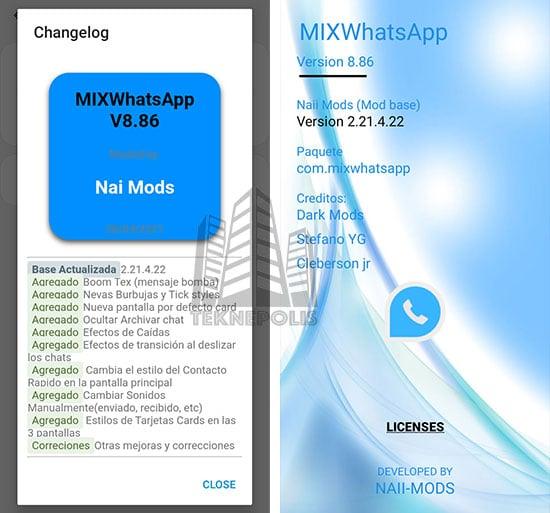 WhatsApp Mix 8.86