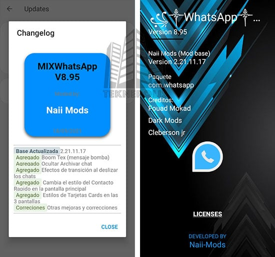 WhatsApp Mix 8.95