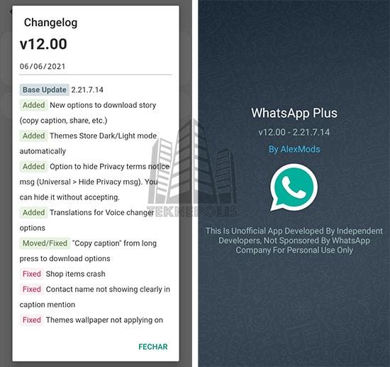 WhatsApp PLUS AlexMods v12.00 image 03