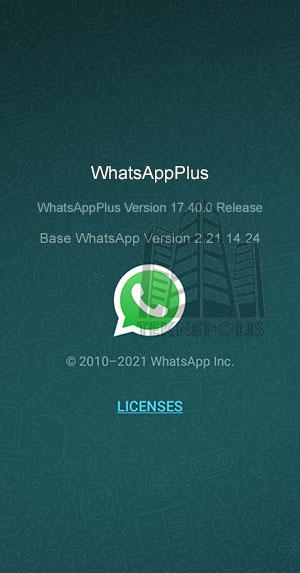 WhatsApp PLUS 17.40.0
